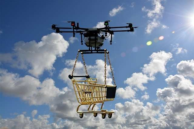 Drone Technology used for Deliveries